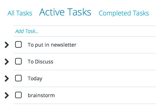 Organize your tasks